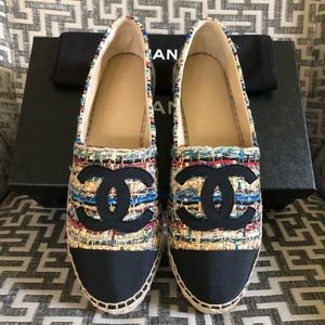 Chanel NWT LIMITED RELEASE Fall 2019 Espadrilles